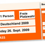 Ticket Joomladay 2009