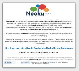 Nooku Server Downloadpage